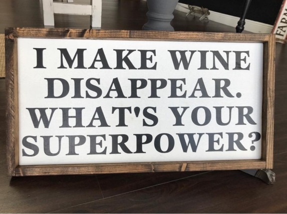 I make wine disappear